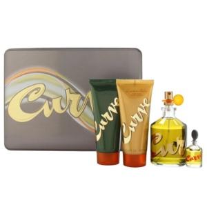 Perfume y Más Estuche Curve by Liz Claiborne 4 piezas Men Original
