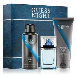 Perfume y Más Estuche Guess Night 3 piezas Men Original