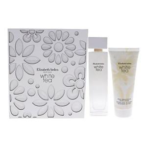 Perfume y Más Estuche Elizabeth Arden White Tea piezas 2 Woman Original