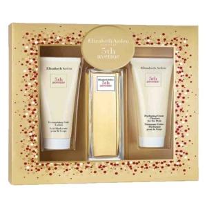 Perfume y Más Estuche Elizabeth Arden 5th Avenue 3pz Woman Original